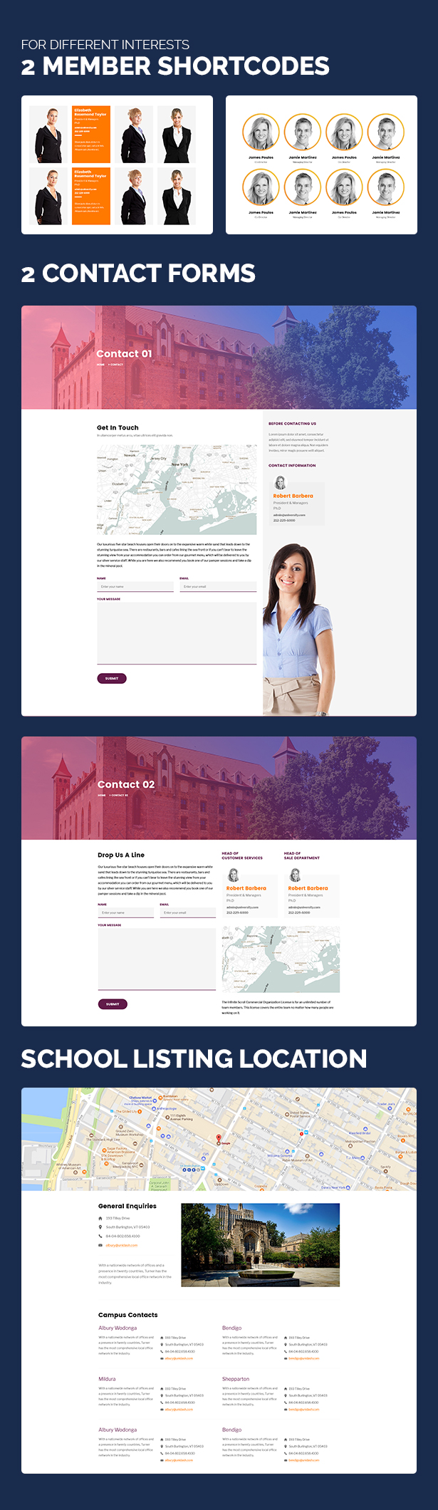 Unidash - WordPress Theme for University and Online Education - 17