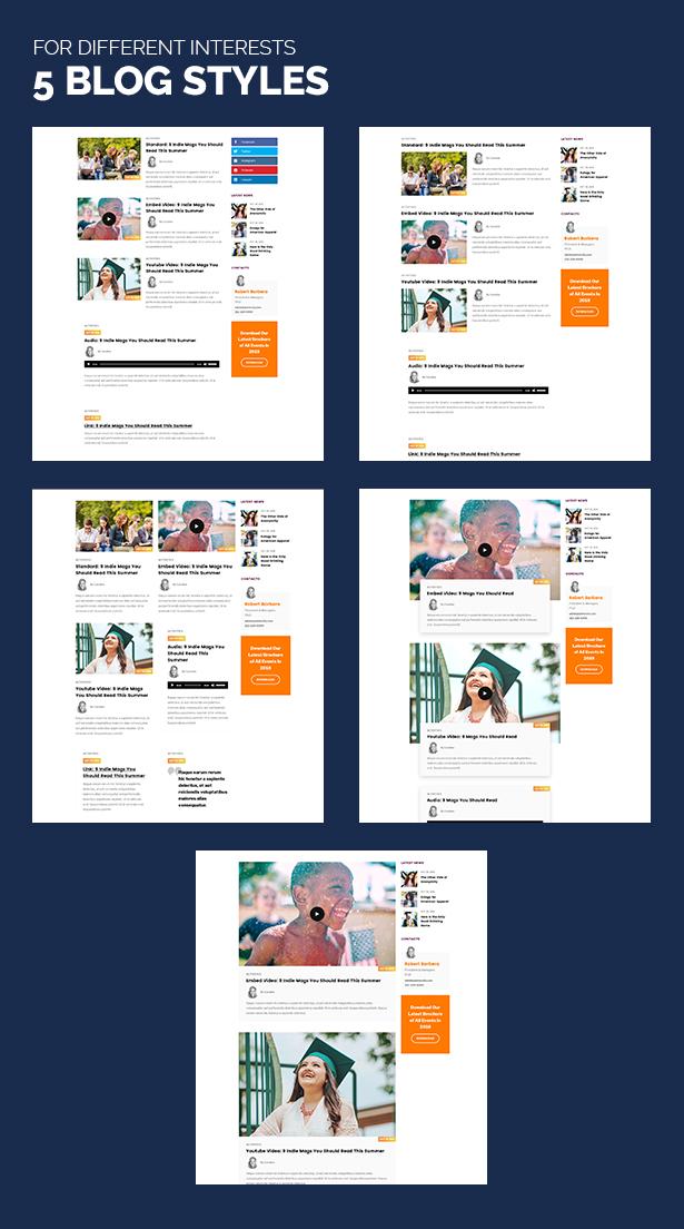 Unidash - WordPress Theme for University and Online Education - 18