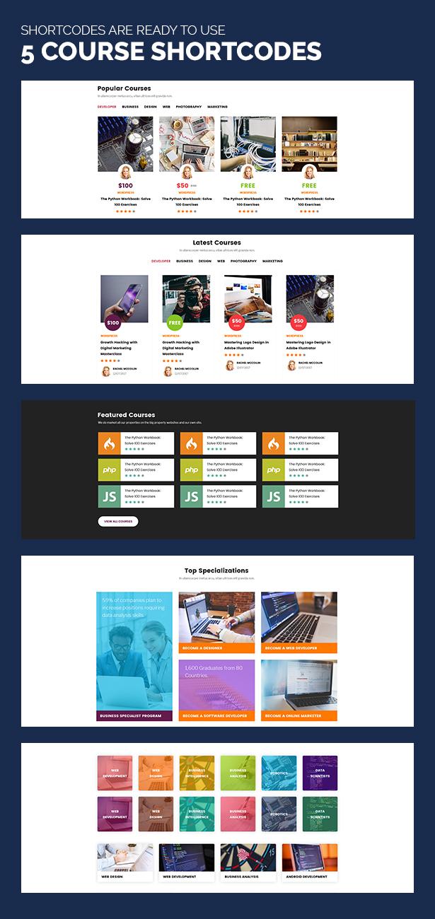 Unidash - WordPress Theme for University and Online Education - 14