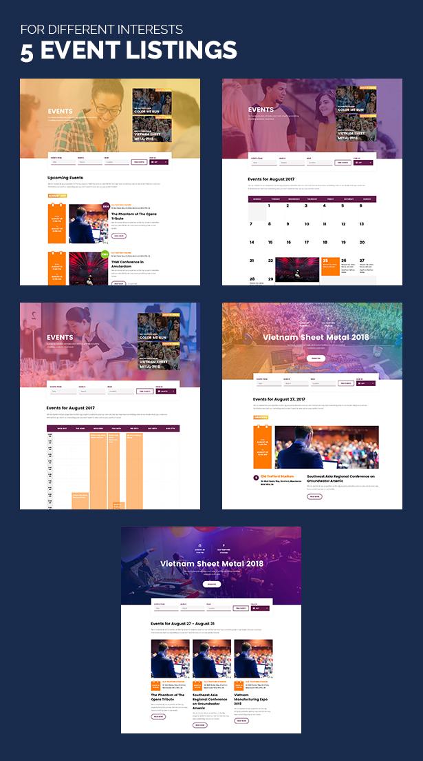 Unidash - WordPress Theme for University and Online Education - 15