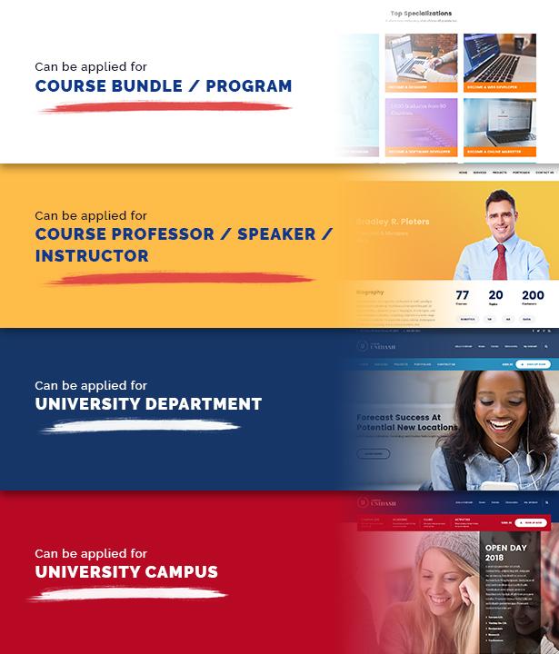 Unidash - WordPress Theme for University and Online Education - 20